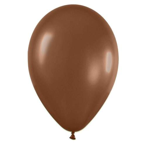 9'' Σοκολατί λάτεξ μπαλόνι
