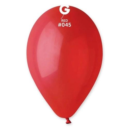 9'' Κόκκινο λάτεξ μπαλόνι