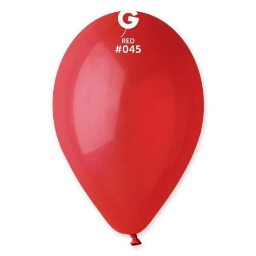 """9"""" Κόκκινο λάτεξ μπαλόνι"""