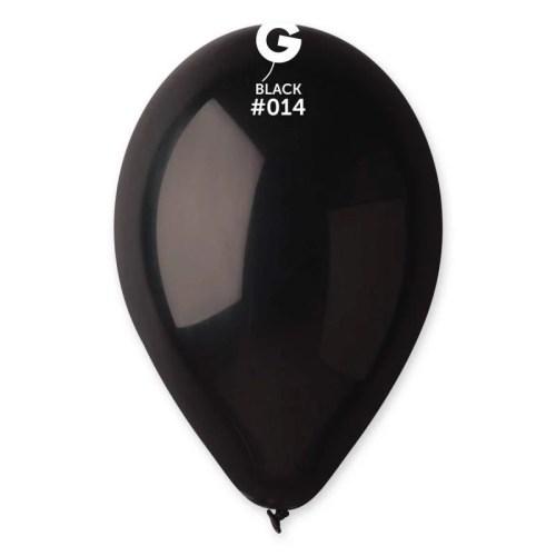 9'' Μαύρο λάτεξ μπαλόνι