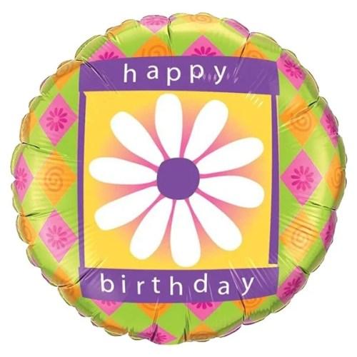 Μπαλόνι για γενέθλια Μαργαρίτα 'Happy Birthday'