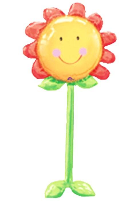 Τεράστιο μπαλόνι Airwalker Ήλιος Λουλούδι 152 εκ