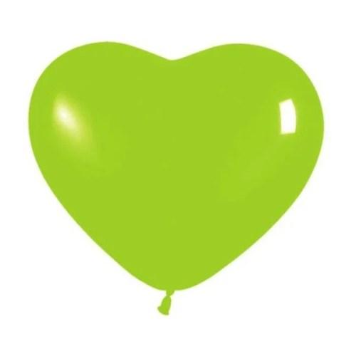 Μπαλόνι μικρό λαχανί καρδιά