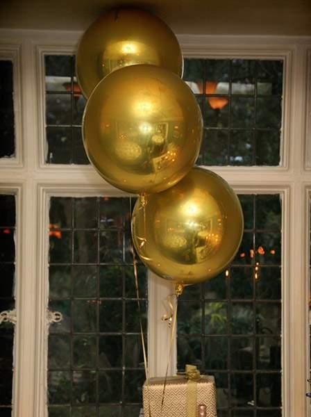 Μπαλόνι τρισδιάστατο Χρυσό ORBZ