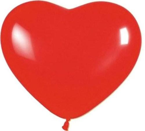 Μπαλόνι καρδιά κόκκινη