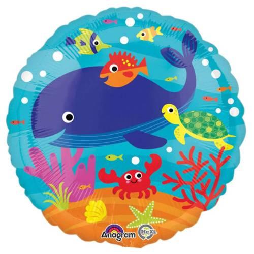 Μπαλόνι με ζωάκια της θάλασσας 45 εκ