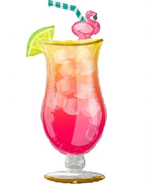 Μπαλόνι Τροπικό Ποτό με φλαμινγκο