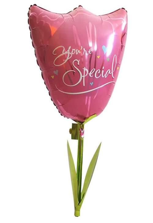 Τεράστιο μπαλόνι Airwalker Τουλίπα You're Special 110 εκ