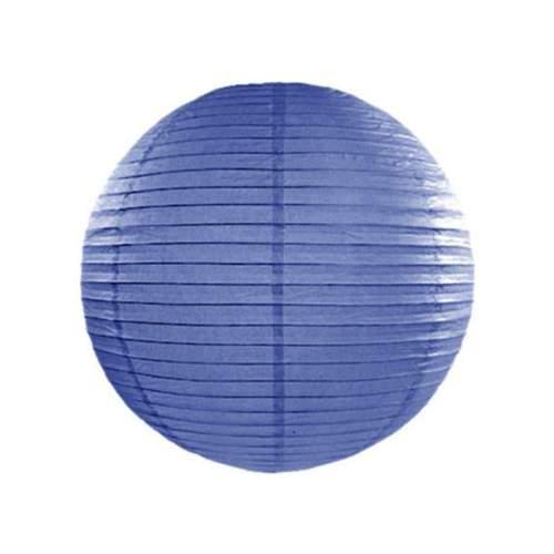 Royal Μπλε διακοσμητικό χάρτινο φαναράκι