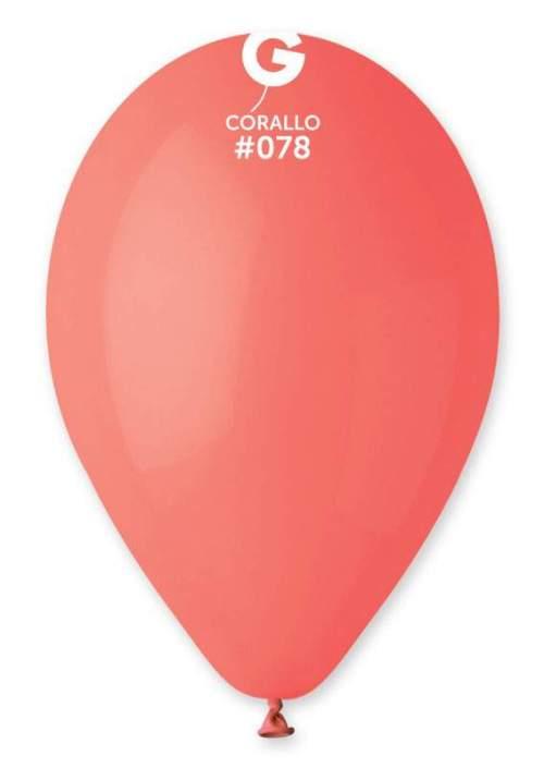 13'' Κοραλί λάτεξ μπαλόνι