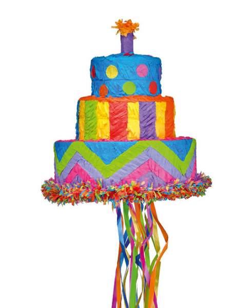 Πινιάτα για πάρτυ Τούρτα γενεθλίων