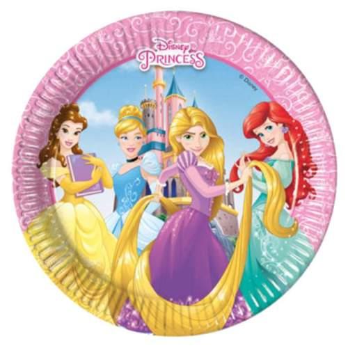 Πιάτα πάρτυ μικρά Disney princess (8 τεμ)