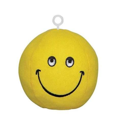 Βαρίδιο κίτρινο Smile Face για μπαλόνια