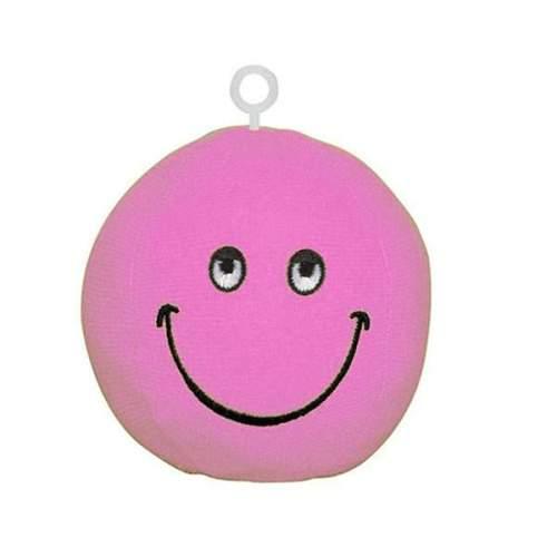 Βαρίδιο ροζ Smile Face για μπαλόνια