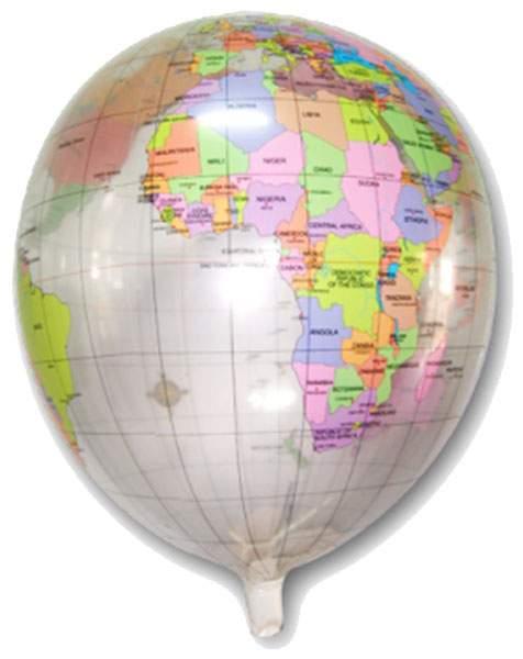 Μπαλόνι Υδρόγειος Σφαίρα