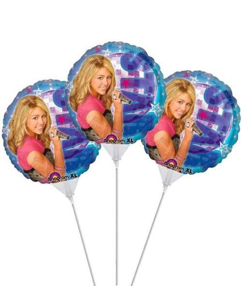 Μπαλόνι μικρό Hannah Montana (3 τεμ)
