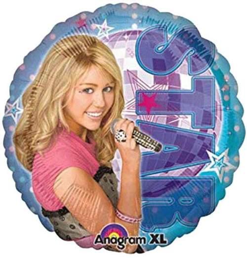 Μπαλόνι Hannah Montana που τραγουδάει στρογγυλό
