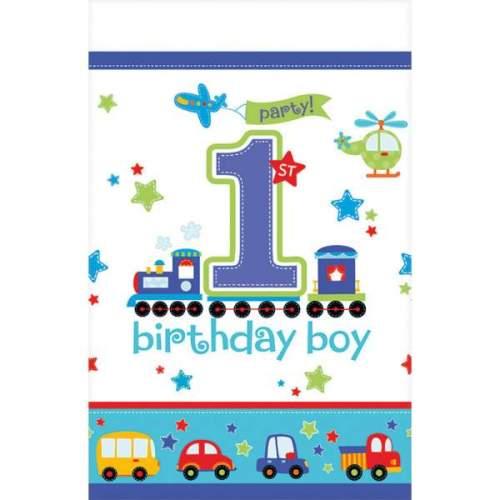 Τραπεζομάντηλο πλαστικό '1st Birthday Boy'