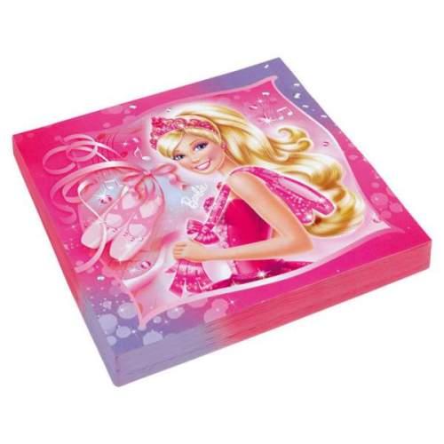 Χαρτοπετσέτες Barbie μπαλαρίνα (20 τεμ)