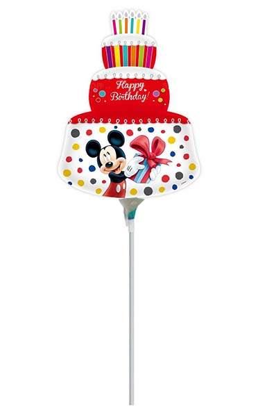 Μπαλόνι με καλαμάκι Mickey & Minnie red cake 41 εκ