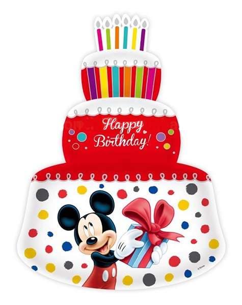 Μπαλόνι κόκκινη τούρτα Mickey & Minnie Mouse