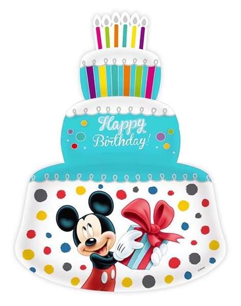 Μπαλόνι γαλάζια τούρτα Mickey & Minnie Mouse