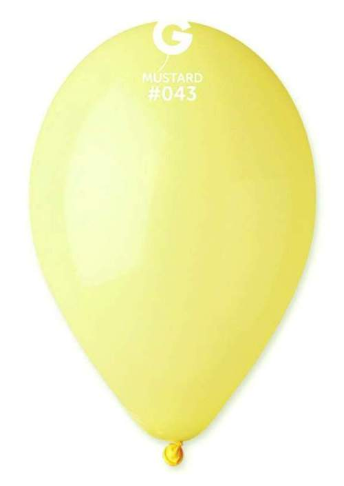 13'' Κίτρινο μουσταρδί λάτεξ μπαλόνι