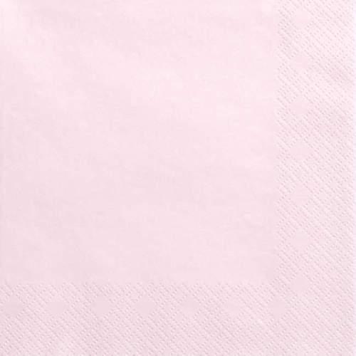 Ροζ της πούδρας χαρτοπετσέτες (20 τεμ)