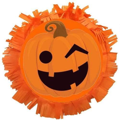 Χειροποίητη μεγάλη Πινιάτα Halloween πάρτυ Κολοκύθα