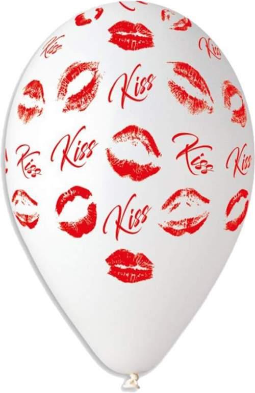 """12"""" Μπαλόνι τυπωμένο Kiss"""