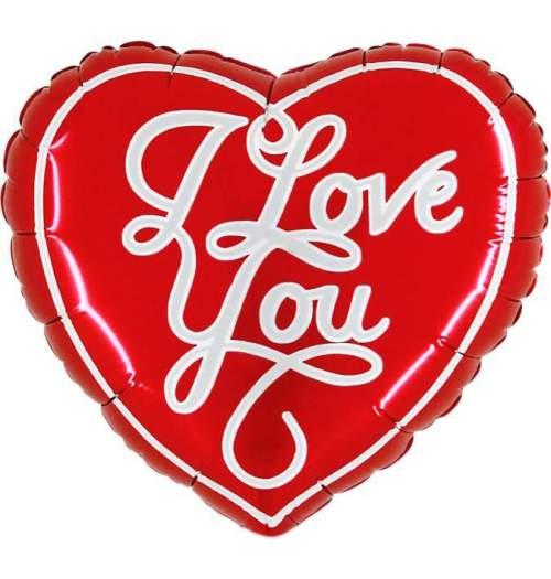 Μπαλόνι αγάπης Καρδιά 1 μέτρου I love you