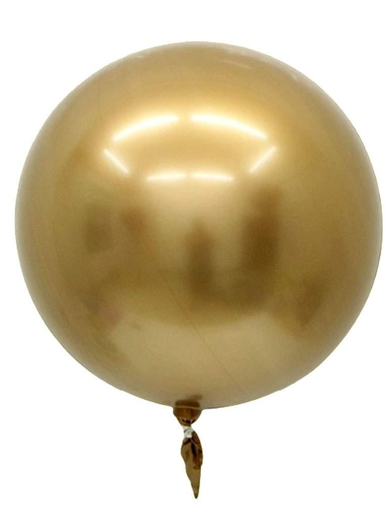 """Μπαλόνι Chrome χρυσή σφαίρα 32"""""""