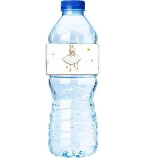 Χάρτινες διακοσμητικές ετικέτες νερού Κουνελάκι (8 τεμ)