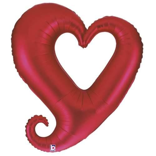 Μπαλόνι αγάπης Καρδιά κόκκινη