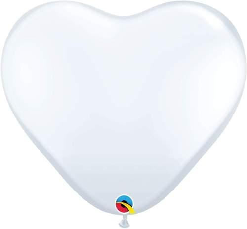 Μπαλόνι τεράστια άσπρη καρδιά