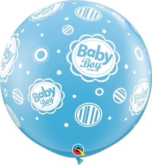 Τεράστιο μπαλόνι τυπωμένο Baby Boy