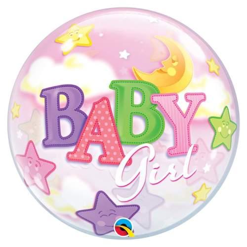 Μπαλόνι Baby Girl bubble 56 εκ