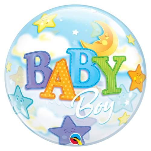 Μπαλόνι Baby Boy bubble 56 εκ