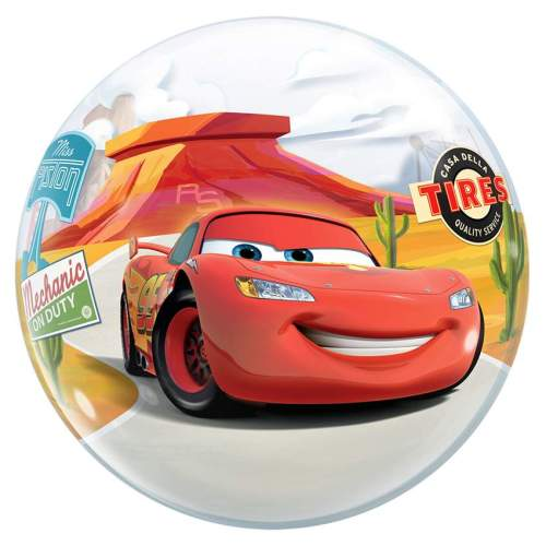Μπαλόνι Cars McQueen bubble