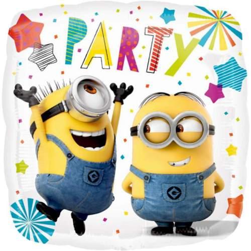 Μπαλόνι τετράγωνο Minions Party