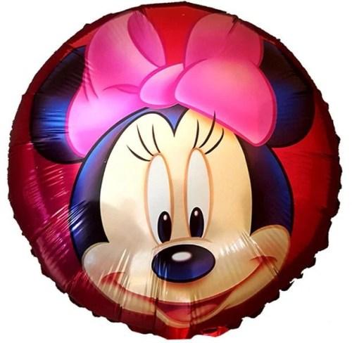 Μπαλόνι Minnie Mouse φάτσα κόκκινο 45 εκ