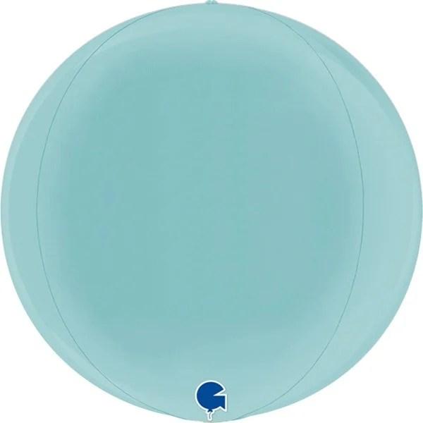 Μπαλόνι παστέλ μπλε τρισδιάστατη σφαίρα ORBZ