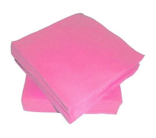 Χαρτοπετσέτες μικρές ροζ (50 τεμ)