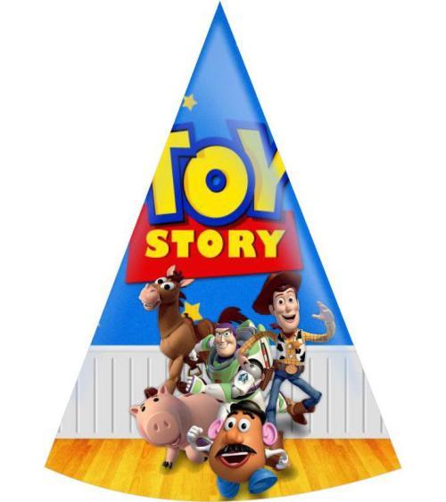 Καπελάκια πάρτυ Toy Story (8 τεμ)