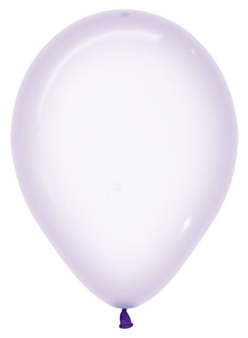 "12"" Pure Crystal Μωβ λάτεξ μπαλόνι"