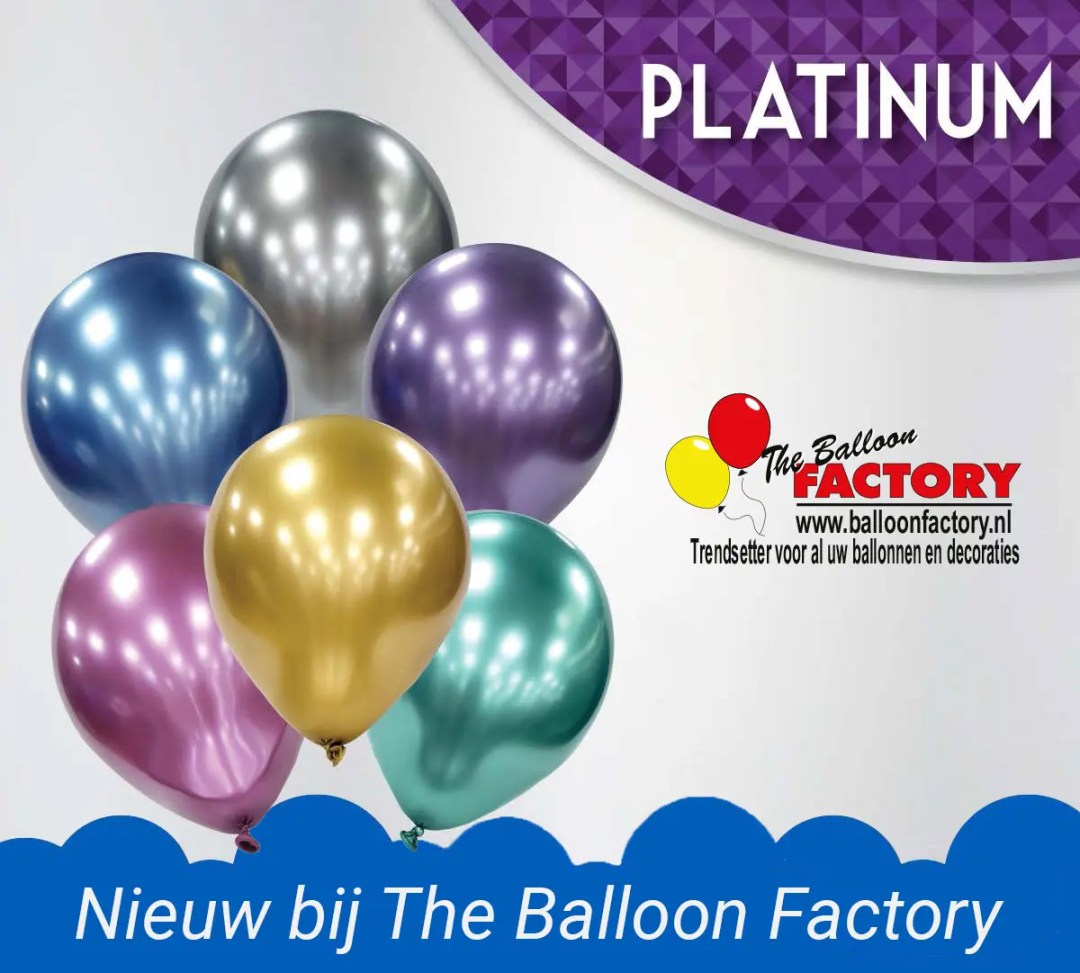 Kleurenkaart Helium Ballonnen 2