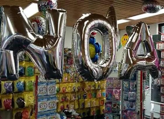 Folie Ballonnen 4