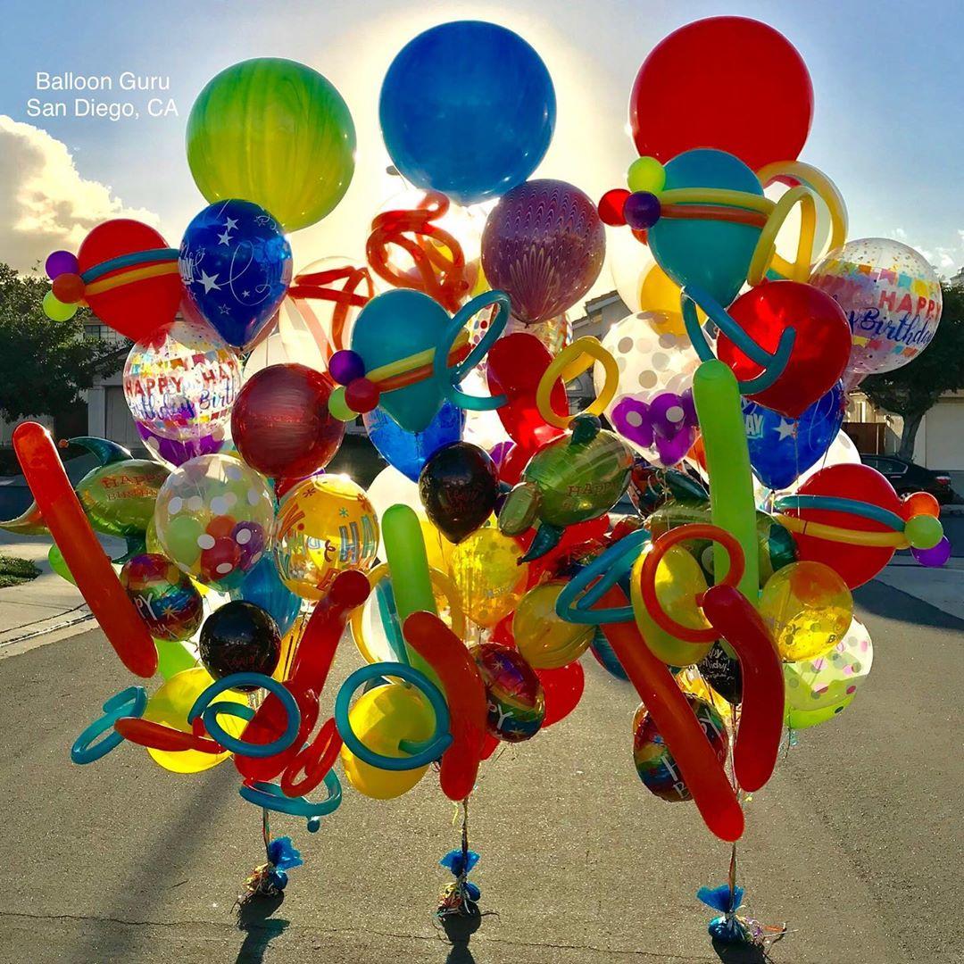 Balloon Bouquets San Diego