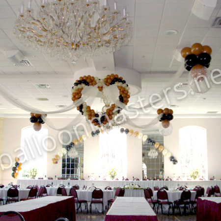 Balloon Decoration Ideas For Wedding Reception