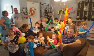 Birthday party with balloons, by Balloonopolis, Columbia, SC - Birthday Parties